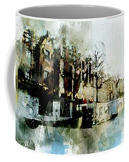 City Life In Watercolor Style Coffee Mug