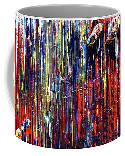 Climbing The Wall Coffee Mug