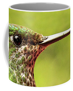 Close-up Of A Rufous-tailed Hummingbird Coffee Mug