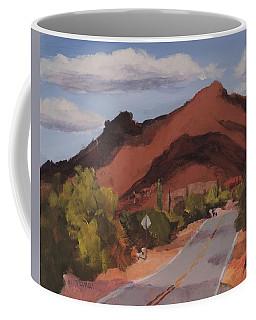 Cloud Shadows On Black Mountain Coffee Mug