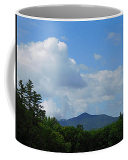 Clouds Over Mt Ascutney Coffee Mug