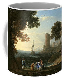 Coast View With The Abduction Of Europa Coffee Mug