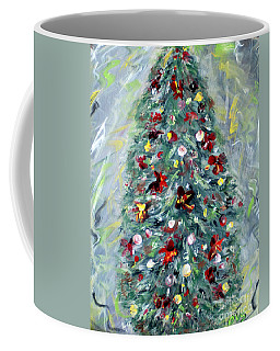 Christmas Tree. Green Coffee Mug