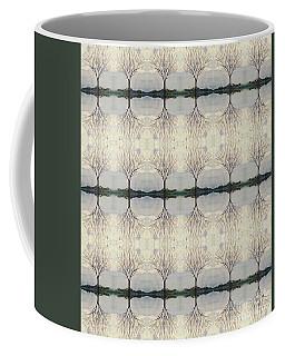 Colorado Cottonwood Tree Mirror Image  Coffee Mug