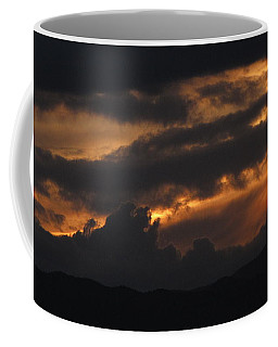 Coffee Mug featuring the photograph Colorado Rocky Mountain Sky by Eric Dee