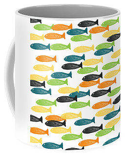 Colorful Fish  Coffee Mug