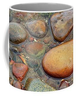 Colorful Shore Rocks 10 Coffee Mug by Mary Bedy