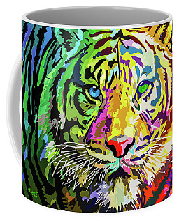 Colorful Tiger Coffee Mug