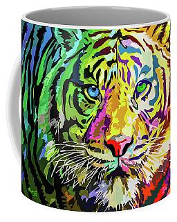Colorful Tiger Coffee Mug