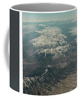 Mountains With Snow Caps Coffee Mug