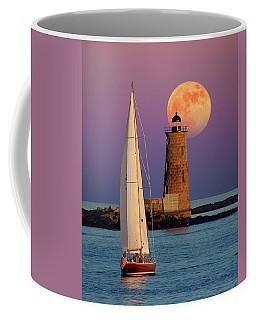 Coffee Mug featuring the photograph Convergence by Larry Landolfi