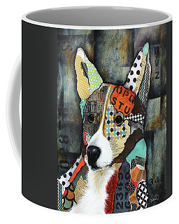 Corgi  Coffee Mug by Patricia Lintner