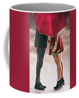 Coffee Mug featuring the photograph Couple Of Sweethearts by Carlos Caetano