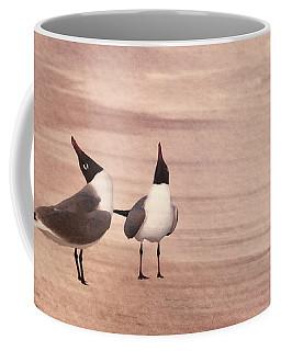 Courtship Dance Of The Laughing Gulls II Coffee Mug