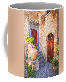 Courtyard Of Tuscany Coffee Mug