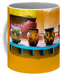 Courtyards Of Taos Coffee Mug