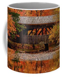 Covered Bridge At Sturbridge Village Coffee Mug