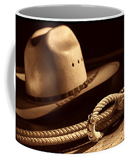 Cowboy Hat And Lasso Coffee Mug