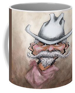 Coffee Mug featuring the digital art Cowboy by Kevin Middleton