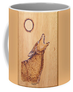 Coyote Coffee Mug by Ron Haist