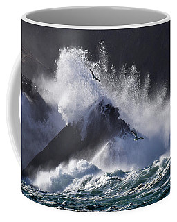 Crashing Wave At Clogher Coffee Mug