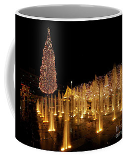 Coffee Mug featuring the photograph Crown Center Christmas by Dennis Hedberg