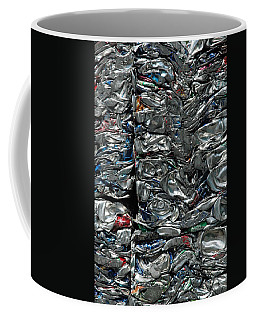 Crushed Cans Coffee Mug