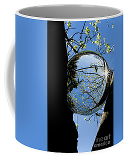 Crystal Reflection Coffee Mug by Deborah Klubertanz