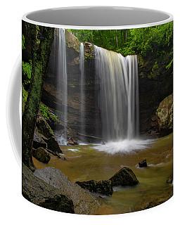 Coffee Mug featuring the photograph Cucumber Falls by Ronald Santini
