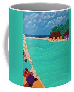Curacao Lagoon Coffee Mug