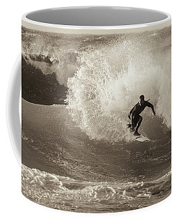 Coffee Mug featuring the photograph Curl by Alex Lapidus