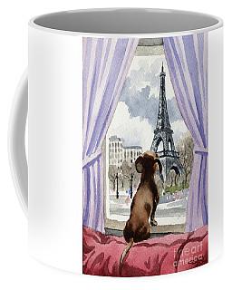 Dachshund In Paris  Coffee Mug