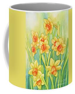 Daffodils In Yellow Coffee Mug