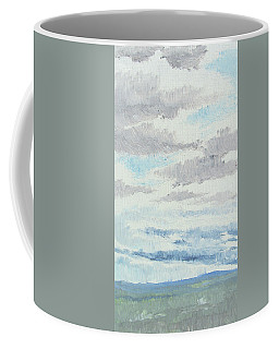 Dagrar Over Salenfjallen- Shifting Daylight Over Distant Horizon 9 Of 10_0029 Coffee Mug