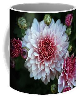 Dahlia Burst Coffee Mug