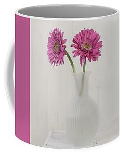Coffee Mug featuring the photograph Gerbera Daisy Love by Kim Hojnacki