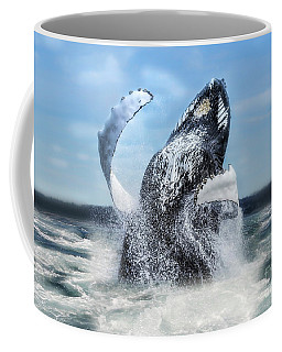 Dances With Whales Coffee Mug