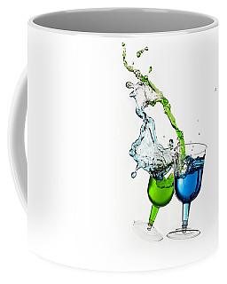 Dancing Drinks Coffee Mug by Peter Lakomy