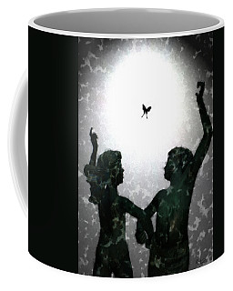 Dancing Silhouettes Coffee Mug by Holly Ethan