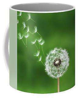 Coffee Mug featuring the photograph Dandelion by Bess Hamiti