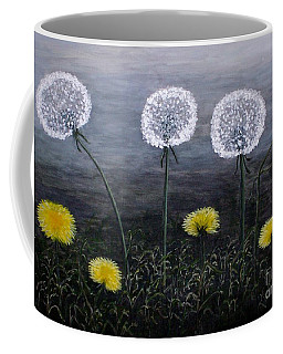 Dandelion Family Coffee Mug by Judy Kirouac