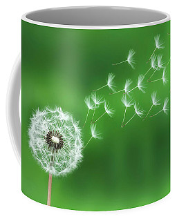 Dandelion Seeds Coffee Mug by Bess Hamiti