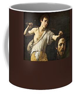 David With The Head Of Goliath Coffee Mug