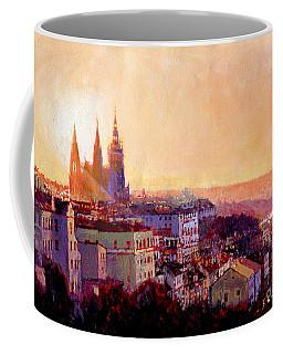 Sundown Over Prague Coffee Mug
