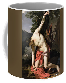 Death Of Saint Sebasian Coffee Mug