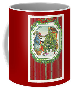 Decorating The Tree Coffee Mug