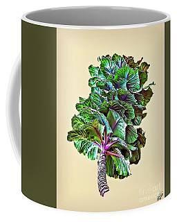 Coffee Mug featuring the photograph Decorative Cabbage by Walt Foegelle
