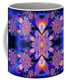 Coffee Mug featuring the digital art Deep Heart by Ian Mitchell