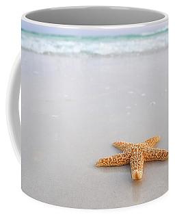 Coffee Mug featuring the photograph Destin Florida Miramar Beach Starfish by Robert Bellomy