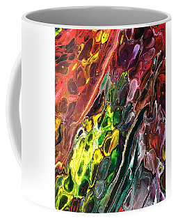 Coffee Mug featuring the painting Detail Of Auto Body Paint Technician 2 by Robbie Masso